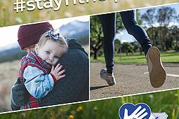 #stayfithelpkids – Der ASV ruft zur Spendenaktion für den Kinderhospizdienst in Karlsruhe auf. Grafik: pm