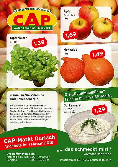 CAP-Markt: Angebote im Februar 2016