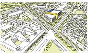 IKEA: Umbauarbeiten laufen auf Hochtouren. Grafik: pm
