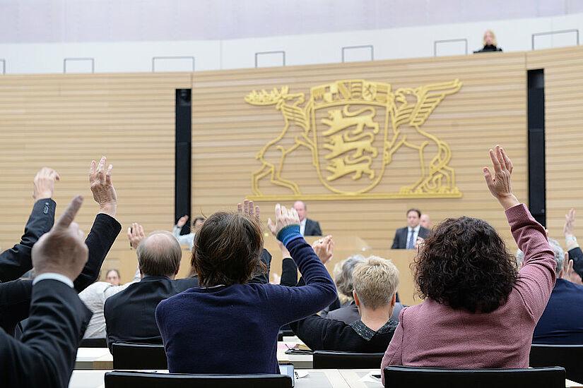 Plenarsitzung. Foto: Landtag von Baden-Württemberg