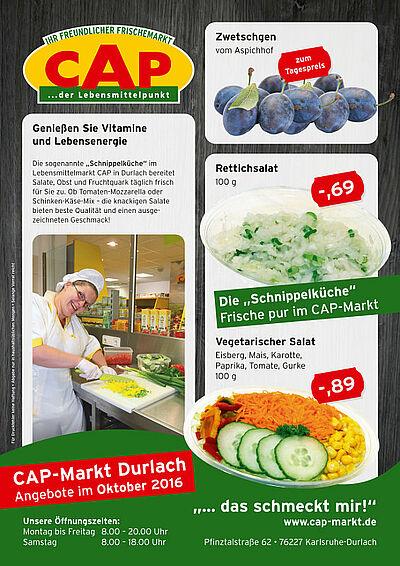 CAP-Markt: Angebote im Oktober 2016