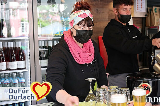 22 #DuFürDurlach: Durlach zum Genießen – Gastronomie darf öffnen - Am Samstag war es endlich so weit! In einer ersten Stufe durfte in Karlsruhe geöffnet werden. (1 Video)
