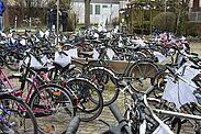 Fahrradflohmarkt der NaturFreunde Durlach an der Obermühle. Foto: pm