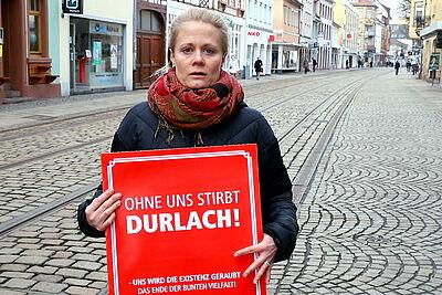 #DuFürDurlach – Wir alle müssen was tun. Foto: cg