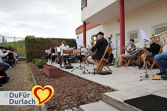 """13 #DuFürDurlach – Musikforum Durlach und Turngemeinde Aue - #DuFürDurlach – das lebt aktuell die TG Aue vor! Sie gibt dem Musikforum Durlach """"musikalisches Asyl"""". (1 Video)"""