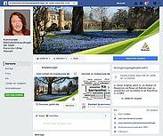 Ulrike Wernert ist auf Facebook. ScreenShot: om