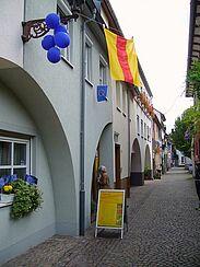 An der Stadtmauer. Foto: cg