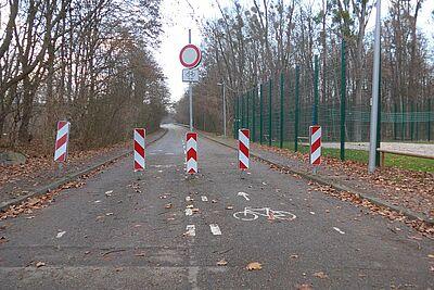 Mit Auto nicht passierbar: die alte Wertkaufbrücke. Dies soll sich ab dem 12. Dezember ändern. Fotos: cg