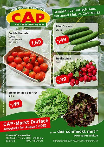 CAP-Markt: Angebote im August 2015