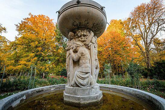 27 Herbst im Durlacher Schlossgarten - Ein paar farbenfrohe Herbstimpressionen aus dem Durlacher Schlossgarten. (27 Fotos)