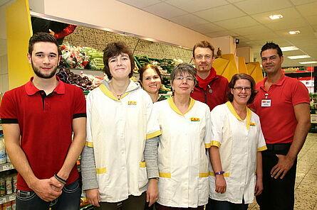 Team des CAP-Marktes Durlach