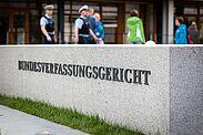 """Bundesverfassungsgericht beim VerfassungsFEST """"70 Jahre Grundgesetz"""" (Mai 2019). Foto: cg"""