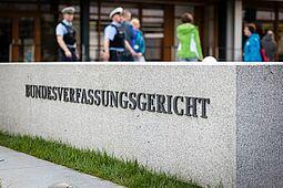 Bundesverfassungsgericht in Karlsruhe. Foto (Archiv): cg
