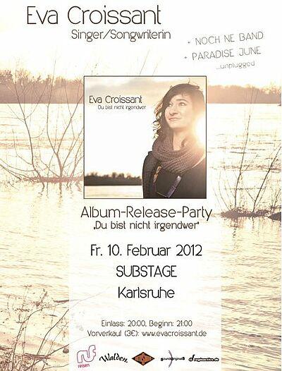 "Karten gewinnen: Eva Croissant ""Album-Release-Party"""