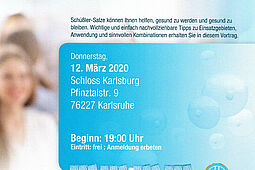 DHU-Vortrag: Schüßler-Salze für Mutter und Kind. Grafik: pm