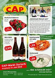 CAP-Markt: Angebote im Juni 2016