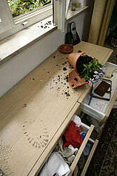 Wohnungseinbruch ging gemittelt über Stadt- und Landkreis leicht zurück. Foto: www.polizei-beratung.de
