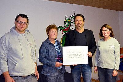 Großzügige Spende aus dem Nachlass von Ralf Achtmann. Foto: pm