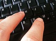 Symbolbild Tastatur. Foto: cg