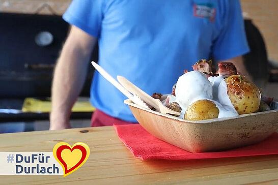 20 #DuFürDurlach – Kuhni's Barbecue - Heute besuchten wir Martin Kuhn von Kuhni's Barbecue im Weiherhof. (1 Video)