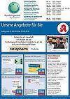 Rundum gesund Apotheken: Aktionen und Angebote im September 2018. Grafik: pm