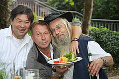 Carstön et Carstön avec Gérard dans le Künsmann à la Türmberge
