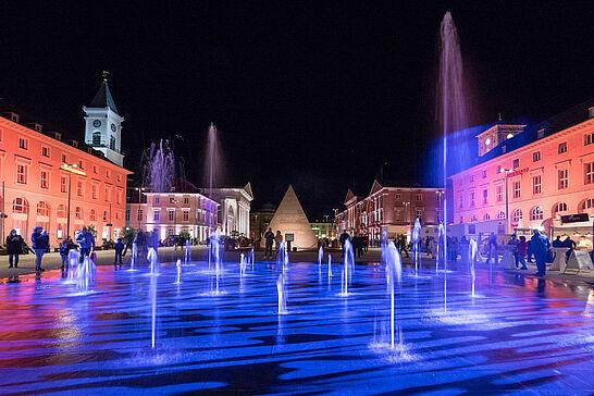 10 Karlsruher Marktplatz wurde Einweihung - Tag der offenen Baustelle - Karlsruher Marktplatz ist zurück: Vielseitiges Rahmenprogramm lud in die Innenstadt ein. (92 Fotos)
