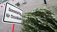 Sammelplätze für Christbäume. Foto: cg