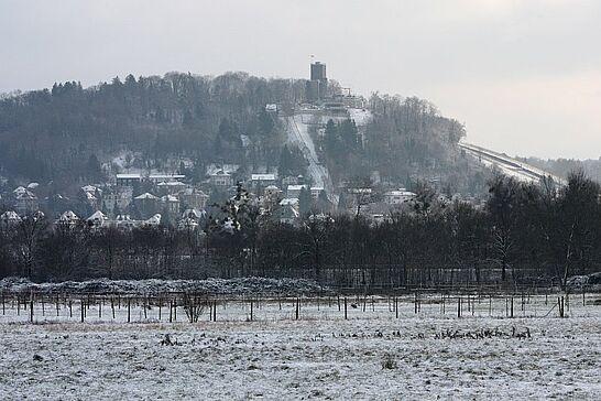 28 Spaziergang im Schnee: Lenzenhub & Untere Hub - Ein fotografischer Streifzug im Schnee durch die Gewanne Lenzenhub und Untere Hub. (111 Fotos)