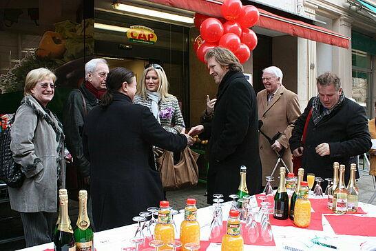 05 1 Jahr CAP-Markt Durlach - Alle Kundinnen und Kunden, Freunde und Förderer waren eingeladen mit dem CAP-Markt sein 1jähriges Bestehen in Durlach zu feiern. (22 Fotos)