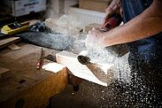 In der Werkstatt des Durlacher Bildhauers Edgar Müller. Foto: cg