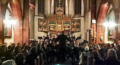Kirchenkonzert mit dem Musikforum Durlach. Foto: pm