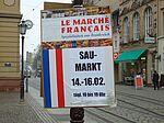 Plakat: Frz. Markt