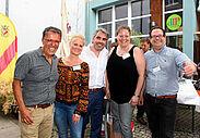 Bestens gelaunt – die Vorstandschaft von DurlacherLeben (v.l.): Schahryar Essari, Meike Eberstadt, Marcus Fränkle, Inka Sarnow und Daniel Jeftic. Foto: vk/wobla