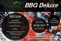 BBQ Deluxe im Schützenhaus auf dem Turmberg. Grafik: pm
