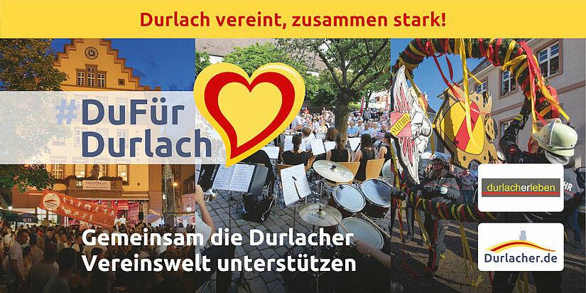 #DuFürDurlach: Gemeinsam die Durlacher Vereinswelt unterstützen. Foto: cg