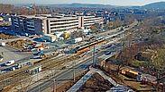 Umbau der Haltestelle Untermühlstraße: Vollsperrung der Durlacher Allee. Foto: pm