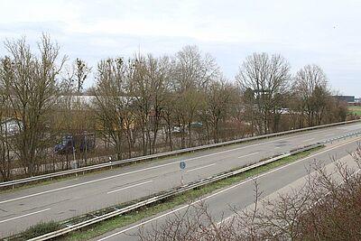 Gelöst soll das Verkehrsproblem mit der Anbindung an die ehemalige B 10 werden. Fotos: cg