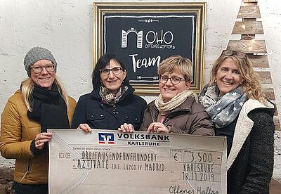 Die vier OHO-Initiatorinnen (v.l.): Katrin Weber, Claudia Schmitz, Leonie Heyder und Elke Hönig. Foto: Mike Ullrich