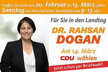 Für Sie in den Landtag. Grafik: cdu