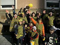 Bienenschwarm Durlach