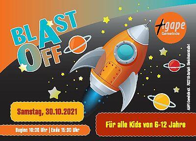 Blast off 2021. Grafik: pm