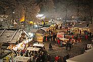 Die Adventszeit in mittelalterlichem Ambiente genießen. Fotos: cg