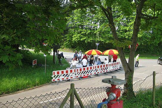 """02 Schildeinweihung """"Panoramastraße zum Turmberg"""" - Am Samstag dem 02. Mai 2009 wurde das neue Schild """"Panoramastraße zum Turmberg"""" enthüllt. (24 Fotos)"""
