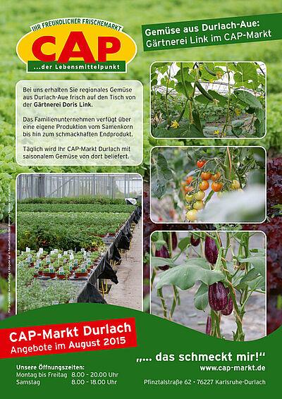 CAP-Markt: Gärtnerei Link