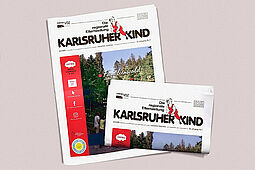 Karlsruher Kind: Ausgabe Juli 2020. Grafik: pm