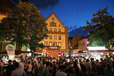 Durlacher Altstadtfest. Foto: cg