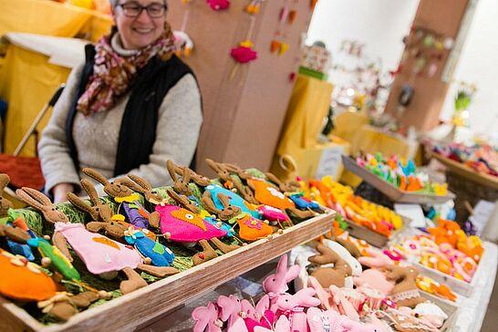 16 25. Durlacher Ostermarkt - Der Durlacher Ostermarkt feiert 2018 ein kleines Jubiläum – bereits zum 25. Mal findet er statt. (53 Fotos)