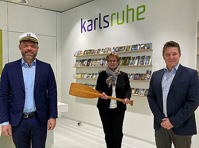 Volle Kraft voraus für die Tourismusdestination Karlsruhe. Foto: pm