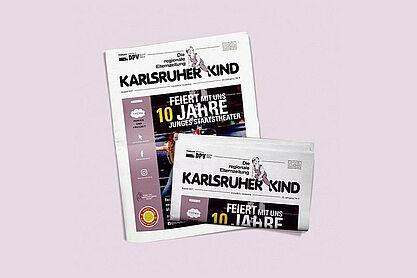 Karlsruher Kind. Grafik: pm
